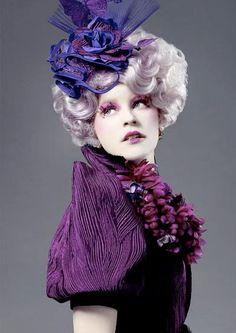 DIY Halloween Hair: DIY Halloween Hairstyles : Effie Trinket Costume |