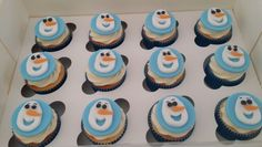 Olfa cupcakes toppers/ vanilla cupcake with butter cream-  QD Cupcakes