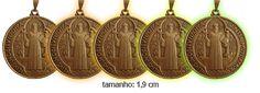 5 medalhas de São Bento