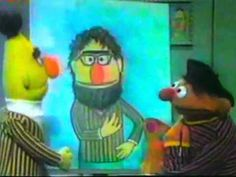A Portrait of Bert. I remember this from when I was little. Bert and Ernie are STILL super fabulous.