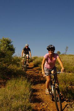 Riding in Alice Springs