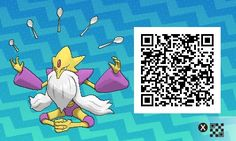 Shiny Mega Alakazam! Pokemon Sun / Moon QR Codes - Imgur