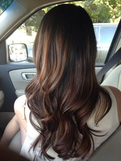 Mohagany Bayalage done by my stylist- Rachel @ Salon Murcel in San Ramon