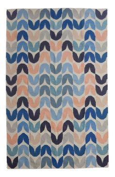 Tulip Fine Flat Weave Rug by Aimée Wilder / Belize