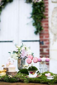 Woodland inspired dessert table // Louise Beukes for b.loved