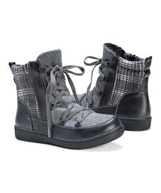 Look at this Dark Gray Shayla Boot - Women on #zulily today!