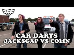 JacksGap and Colin Furze play car darts Finn Harries, Colin Furze, Jack Finn, Sam Pottorff, Carter Reynolds, Taylor Caniff, Emo Guys, Brent Rivera, Hayes Grier