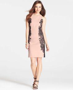Lace Halter Dress | Ann Taylor