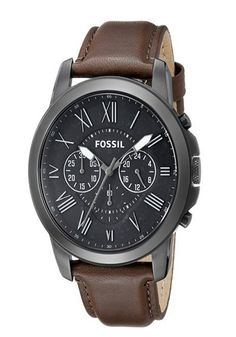 Fossil Men's FS4885 Grant Stainless Steel Watch with Brown Leather Band - BUY NOW IN OUR PAGE - CLICK IMAGE FOR MORE INFO #entrepreneur #gentlemenstyle #networker #marketing #young #millionaire #billionaire #millions #dollars #luxury #entrepreneurs #entrepreneurship #workhard #ceo #lifestyle