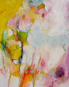 "Mary Ann Wakeley; Mixed Media, Painting ""Wonderland"" #colorful #abstract #art"
