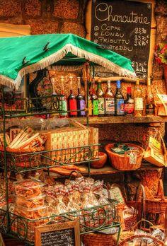 Produits Corses - Sartene, Corsica, France #Corsica, #Corse #Travel #PlanYourEscape #LittleHotels