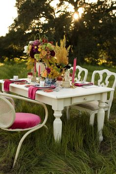 The most romantic table for two.