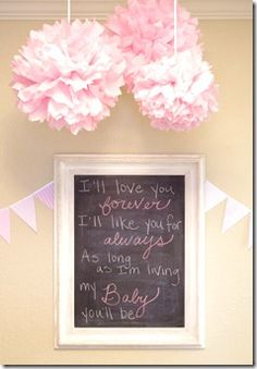 Chic party: pink baby shower!