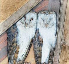 Lydia Anneli Bleth: BELLA DONNA digital art - Hogwarts School (Owl Art...