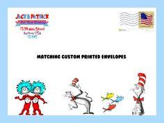 Dr. Seuss Envelopes