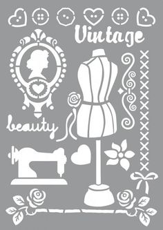 Stencil Lettering, Stencil Diy, Stencil Painting, Stenciling, Stencil Patterns, Stencil Designs, Embroidery Patterns, Number Stencils, Letter Stencils