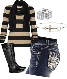 """Night out"" by ashley-braun on Polyvore"