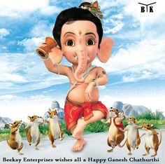 #BeekayEnterprises wishes all a #HappyGaneshChaturthi