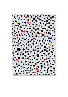 Dots & Hearts notebook. Shop: http://shop.ivanahelsinki.com/collections/home/products/dots-hearts-notebook