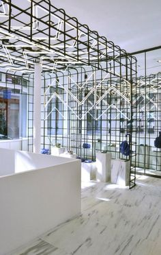 NYC Flagship Store Display, Alexander Wang Boutique.