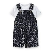 Carter's® 2-pc. Anchor Shortalls Set – Baby Boys newborn-24m