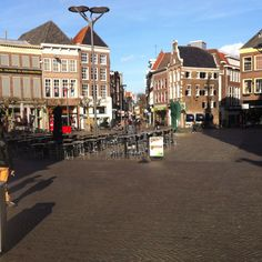 Innercity of Zwolle------I NEED to be here in November!!!