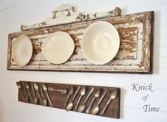 antique junk decor | SNS 177 - decorating with PLATES | Funky Junk InteriorsFunky Junk ...