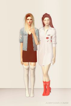 Always Sims: Slyd Vetements Boots - 4t2 - AF
