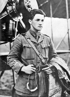 Albert Ball - fighter pilot of WWI/owner of a Victoria Cross.