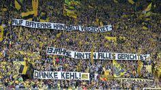 Abschied der BVB-Fans von Sebastian Kehl - Borussia Dortmund - Werder Bremen 3:2. Micki schenkt Klopp Europa zum Abschied - Bundesliga Saison 2014/15