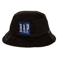 37393223a70ca Community 54 The Rap Bucket Hat in Black