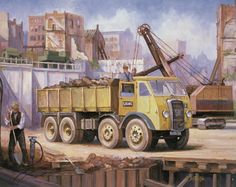 Foden dg - Car world Britain '50s through the eyes of Michael Jeffries