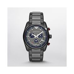 a3b7da253857e6 Buy Emporio Armani Sportivo Blue and Gunmetal Grey Stainless Steel Men s  Watch and receive a 2 year Tic Watches Warranty plus free UK Delivery.