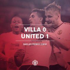 FT: Villa 0 United 1. Another three points thanks to Adnan Januzaj's strike!