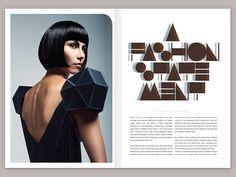 Click Magazine 2 by Josip Kelava, via Behance