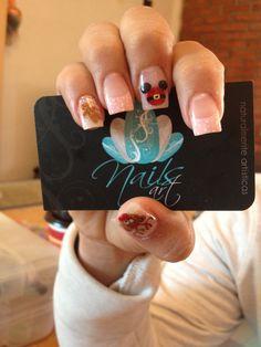 Nails art, acrylic nails, christmas nails