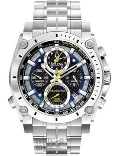 96B175-Gents-Bulova-Precisionist-Chronograph-Watch-0