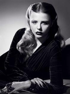 eef659c710b0 Chloe Moretz Film Noir Photos  Modern Femmes Fatale  Part 128 Lauren  Bacall