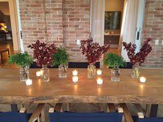 Decore sua mesa com velas