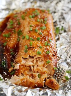 your recipes: ASIAN SALMON IN FOIL
