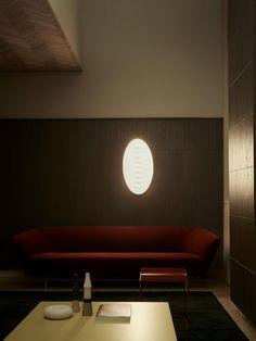 Superficie, wall lamp designed by Calvi Brambilla for Foscarini, 2017
