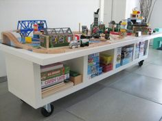 IKEA Hack: Train Table