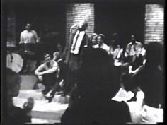 """Howlin' Wolf on Shindig, 1965.  """"How Many More Years.""""  Introduced by Mick Jagger and Brian Jones and backed by the Shindig house band featuring Billy Preston on piano,"""