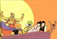 Hanna Barbera World Arabian Knights, Hanna Barbera, Classic Cartoons, Old School, Tv Series, Mickey Mouse, Disney Characters, Fictional Characters, Geek Stuff