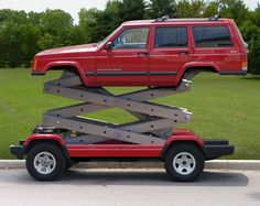 I actually wish I had this Jeep because there are those times that getting the picture I want requires a higher perch.