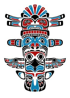 totem graphic design - Google Search
