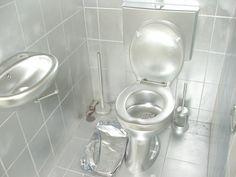 Bathroom all silver