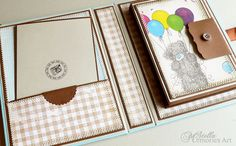 Mini Scrapbook Album Birthday Album Birthday by StellaMemoriesArt