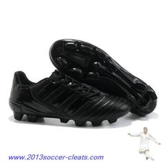 2013 Adidas Predator XI TRX FG Boots all black Football Boots