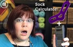 Nobody likes socks that don't fit. (Well, except for a few people who REALLY embraced the slouchy sock trend back the To help you sock knitters and loom knitters get the perfect fit I've developed the Sock Calculator! Knitting Help, Arm Knitting, Knitting Socks, Knit Socks, Knitting Machine, Sock Loom Patterns, Crochet Patterns, Loom Knitting Projects, Sewing Projects